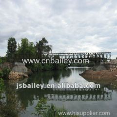 steel prefabricated bridge in Cambodia