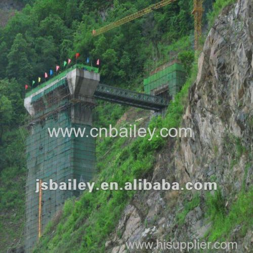 portable steel bridge structural steel erection