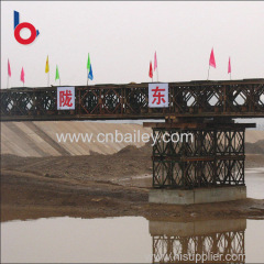 Promotional army prefabricated compact bridge Lowest Price