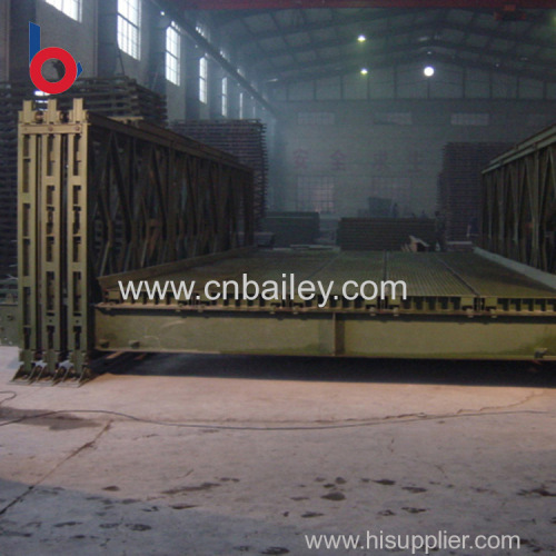 high quality prefabricated portable steel bridge for highway Premium