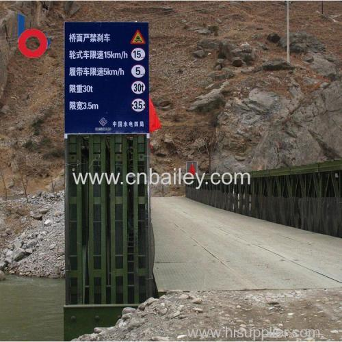 small steel bridges galvanized steel truss