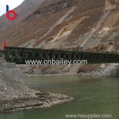 High strength steel structure bridge