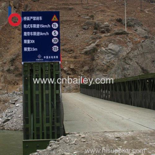 2017 structural portable steel bridges Factory Wholesale