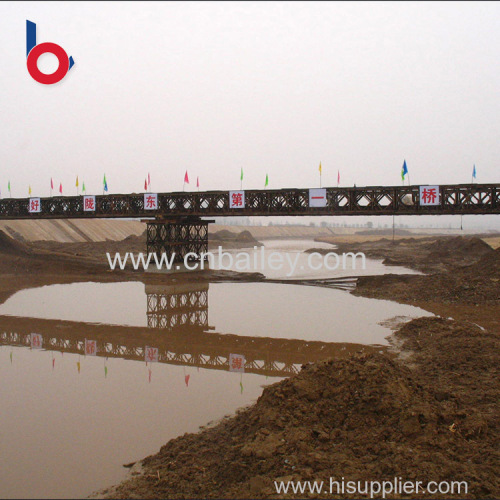 Hot Selling bailey structure truss temporary bridge Own factory