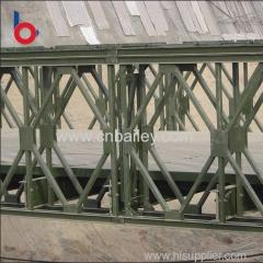 Factory price famous truss prefabricated compact bridges Easy and convenient