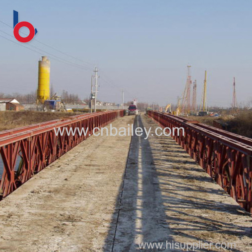 Best price zinc plated portable steel bailey bridge New Items