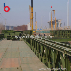 New Technology galvanized modular steel bridge China Manufacture