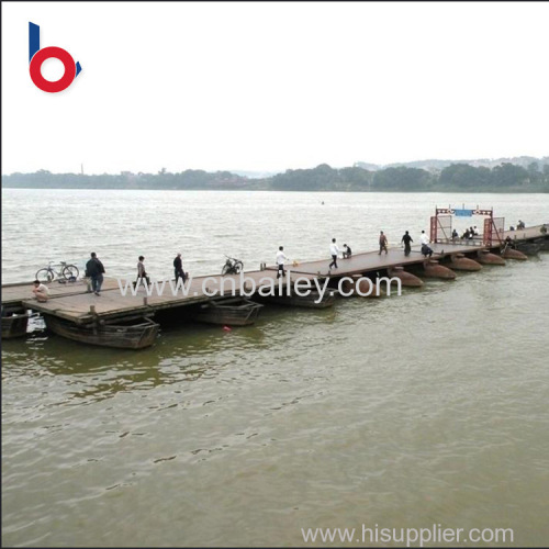 China manufacturer hot sale bailey steel portable bridge