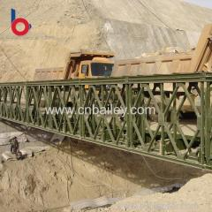 Good Price prefabricated compact super bailey bridge Customized