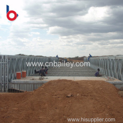 Hot sales excellent quality super bailey bridge Newly