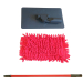 Microfiber bathroom cleaning mop