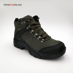 Popular Outdoor Leather Waterproof Sports Shoes Hiking Boots