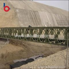 Cheapest made in china bailey pedestrian temporary bridge