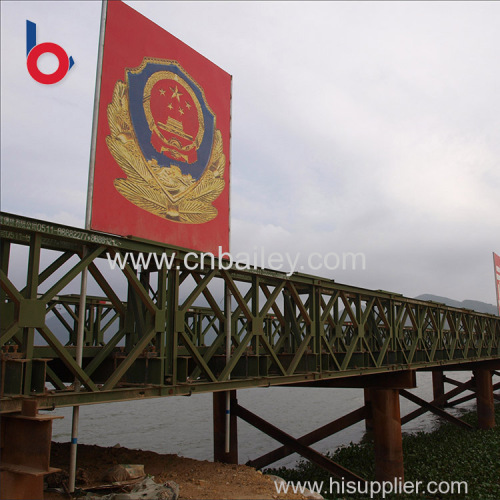 alibaba customized service prefabricated temporary bridge manufacturers