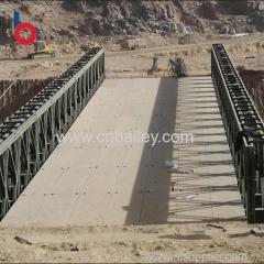 Top quality Factory galvanized bailey truss temporary bridge