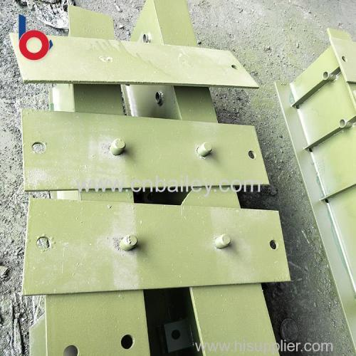alibaba customized service baseplate for bailey bridges