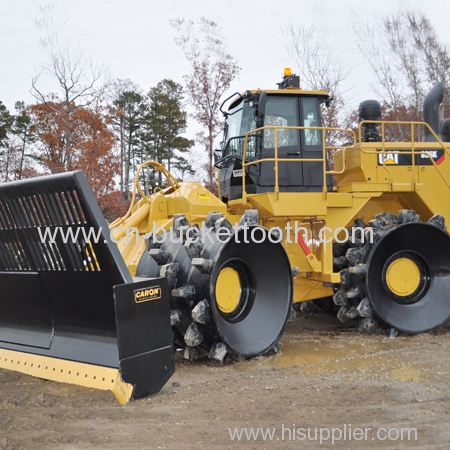 Construction Machinery Spare Parts Compactor Foot