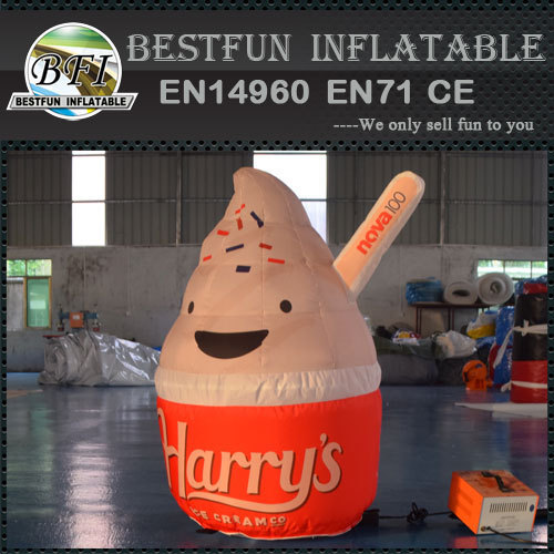 Inflatable sweet canister model