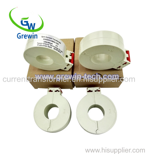 0.333V(AC) Rated Output 5.0KV Dielectric strength Construction Tie Split Core Current Transformers for monitoring