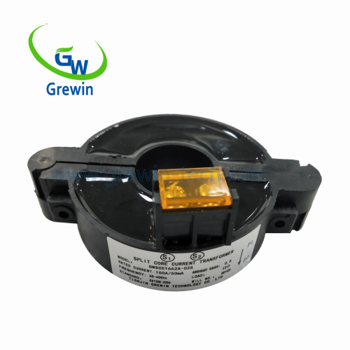 2.5KV Dielectric strength PC Case Silicon steel Core Split Core Current Transformers for monitoring and protection