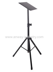 Tripod Projector Stand Adjustable DJ Laptop Stand with Height and Tilt Adjustment