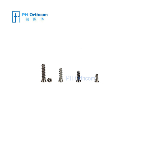 2.0mm Titanium Self-tapping Screw Crosshead Mini Self tapping Screw for Maxillofacial Surgeries Mini Fragments