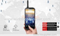 9000mAh anti explosion ATEX DMR 2w walkie talkie rug=gged phone 6G 128G SMARTPHONE RUGTOUGH