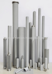Stainless Steels Sintered Metal Filter Stress Resistance Shape Stability