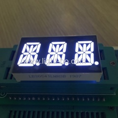 "Ultra bright white 0.54"" 3 Digit 14 Segment LED Display common cathode for Temperature Indicator"
