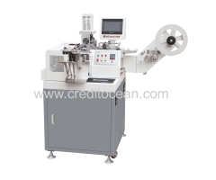 ultrasonic label cutting and folding machine 050