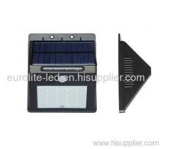 euroliteLED Solar Lights Outdoor 16/20 LED Wireless Waterproof Security Solar Motion Sensor Lights