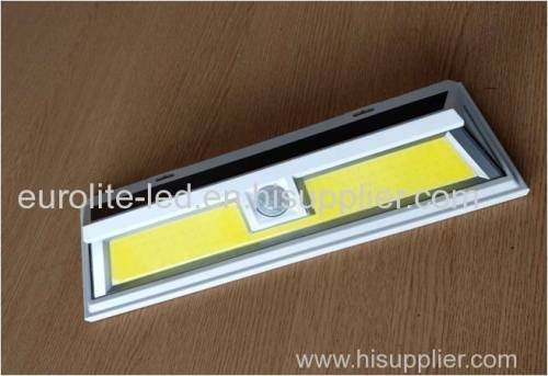 euroliteled sensor de movimiento solar luz exterior cob led actualizado impermeable super brillante solar luces de pared
