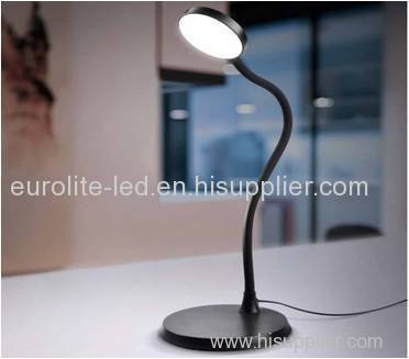 euroliteLED Flexible Goose Neck Touch Control Table Light with 3 steps dimmer Brightness