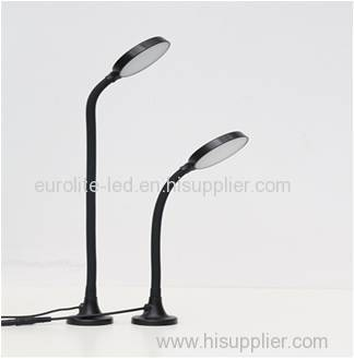 euroliteLED Full Range Dimming LED Flexible Gooseneck Desk Lamp