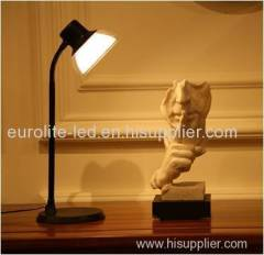 euroliteLED Flexible Gooseneck Table Lamp with 5 steps dimmer
