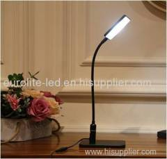 euroliteLED Flexible Gooseneck Desk Lamp With Touch-Sensitive Control Panel