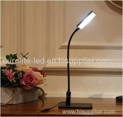 euroliteLED Flexible Gooseneck Desk Lamp With Touch-Sensitive Control Panel