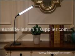 euroliteLED LED Aluminum Dimmable Desk Lamp with Touch/Timer/Memory Function for reading working