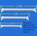 euroliteLED energy-saving LED eye Caring light tube with USB charging