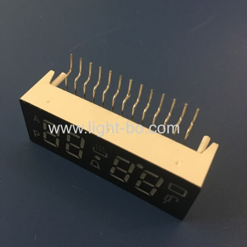 Ultra 4 digit 0.38  common anode 7 segment led dispaly for digital oven timer controller