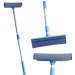 sponge mesh window washer & rubber squeegee with Aluminum handle