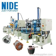 3 phase induction Motor stator automatic production assembly line
