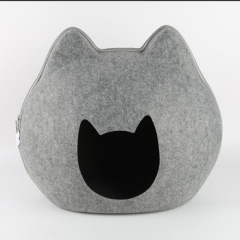 fashionable and comfortable wool felt pet house for cat and dogs