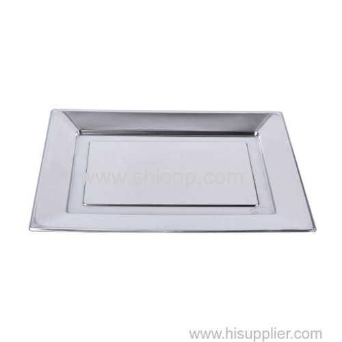 Aluminum Coating Disposable Plate