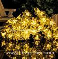 50LED Solar Lamp String Lotus 8 Mode
