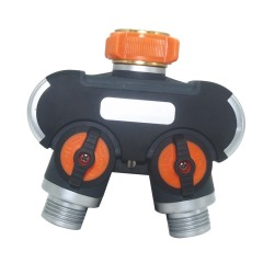 Garden Hose 2 Way Tap Splitter For Flower Irrigation