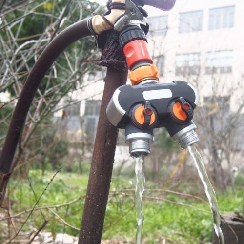 Garden Hose 2 Way Splitter For Lawn Water