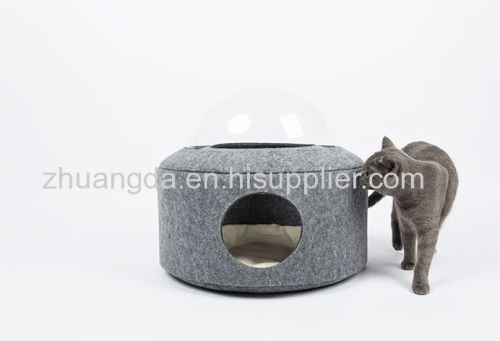 Felted pet kennel pet supplies can be customized and washable high-end pet kennel