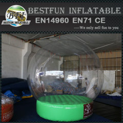 Indoor advertising snowball bubble tent
