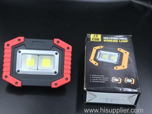 euroliteLED Charging working lamp 4cm*13.9cm*10.3cm Press switch ABS